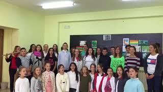 """""""Eja Këndo me ne"""" 2017, disa momente nga kori i shkollës """" Ahmet Gashi"""""""