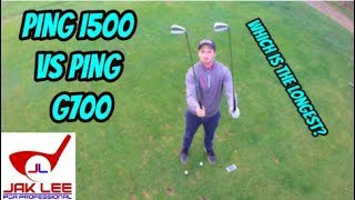 WHICH IS THE LONGEST IRON? PING G700 VS PING I500