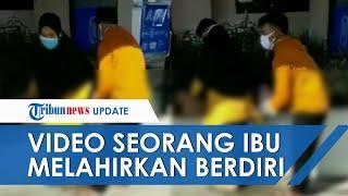Viral Video Ibu Melahirkan di Halaman RS Sambil Berdiri, Dinkes Yogya: Petugas Baru Menanyai Suami