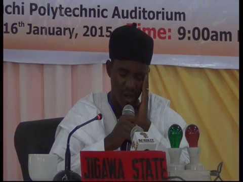 2015 Nigerian Musabaqa: Jigawa Tangeem. Male Participant