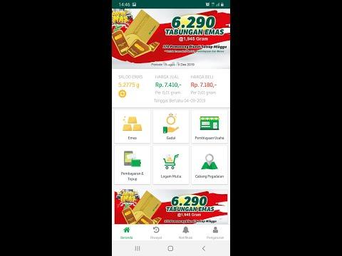 Cara Menabung Emas Online dengan Aplikasi Pegadaian dan Mobile Banking BRI