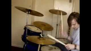 Feeder - Space age hero Drum cover