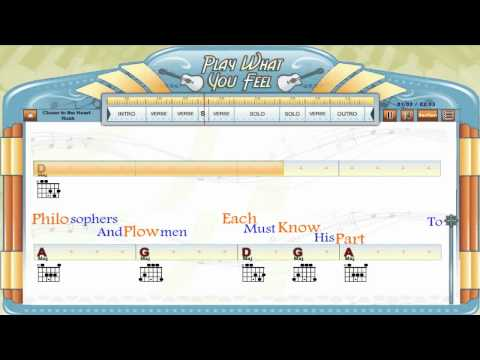 Hold My Hand Hootie The Blowfish Guitaraoke Chords Lyrics Lesson 2