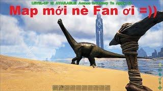 ARK: The Center #1 - Sinh tồn trên Đảo khủng long, Map mới nè Fan ơi =))