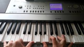 How to play Coldplay - Trouble on piano (Part 1)