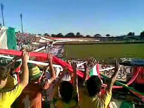 """""""Passo Fundo x Gaúcho - Diabos do Planalto - Atirei o pau no gaucho / sim senhores sou tricolor"""" Barra: Diabos do Planalto • Club: Passo Fundo"""