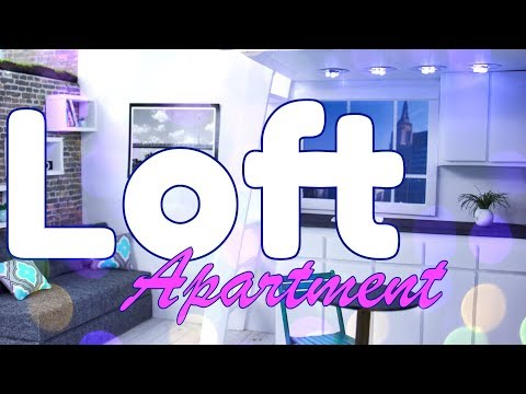 DIY – How to Make: Doll Loft Apartment PLUS Working Light Fixture