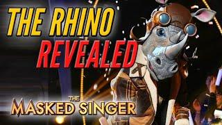 Rhino Revealed - The Masked Singer -- @The Masked Singer
