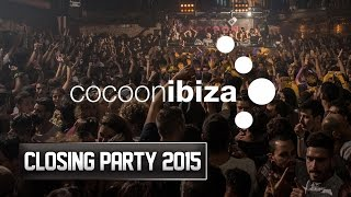 Cocoon Closing Party  Amnesia Ibiza 2015