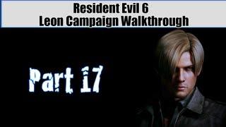 Resident Evil 6 Walkthrough (Leon Campaign) Pt. 17 - How NOT To Land A Plane