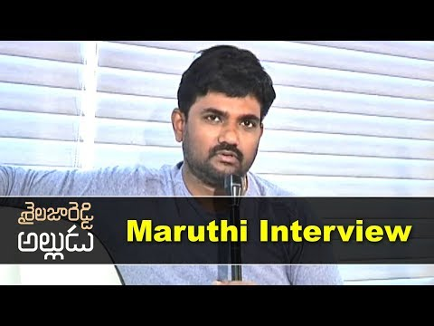 director-maruthi-interview-about-shaialaja-reddy-alludu