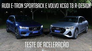 Audi e-tron Sportback e Volvo XC60 T8 R-Design