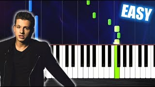 Charlie Puth   Attention   EASY Piano Tutorial By PlutaX