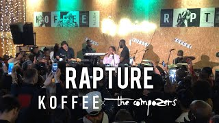 Koffee Featuring The Compozers   Rapture LIVE