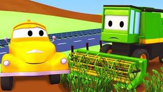 Odtahové auto pro děti - Kombajn Odtahové auto Tom ve Městě Aut