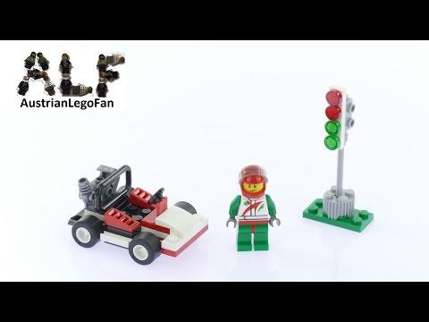 Vidéo LEGO City 30314 : Go-Kart Racer (Polybag)