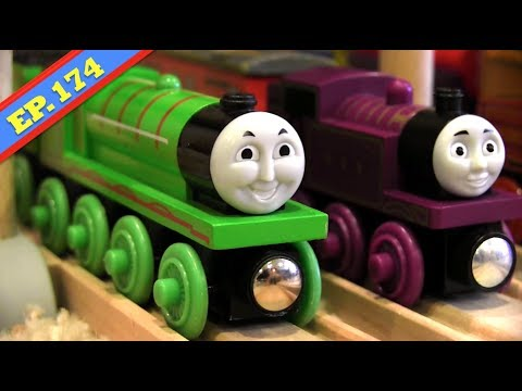 Henry's Handcar Havoc | Thomas & Friends Wooden Railway Adventures | Episode 174