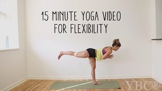 15 Minute Yoga for Flexibility by Yoga by Candace