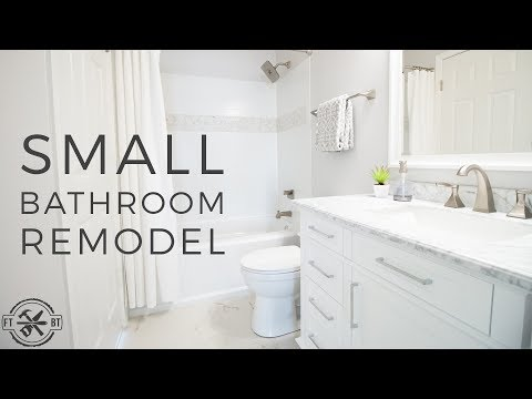 DIY Small Bathroom Remodel | Bath Renovation Project