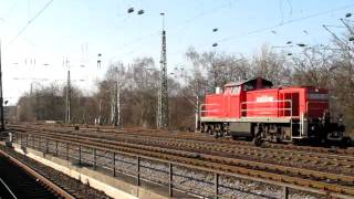 preview picture of video 'DB 294 806 mit Autozug'