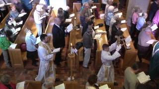 The Resurrection of Our Lord Service at Zion Lutheran Church April 9, 2017