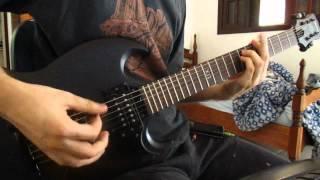 Anti-Flag - No Borders, No Nations (guitar cover) Jp