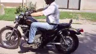 preview picture of video 'Yamaha Virago XV400 Mako Mikocsa Vagott'
