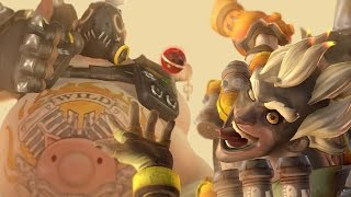 Roadhog and Junkrat Play Overwatch Together