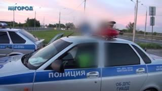 В Рязани пьяный водитель врезался сразу в 2 автомобиля