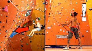 How to Belay Dynamically: Common Mistakes   Beginner Advice   Fear of Falling