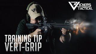 BCM Training Tip - Vert Grip Placement