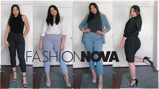 Business Casual Lookbook 2019 | FASHION NOVA CURVE