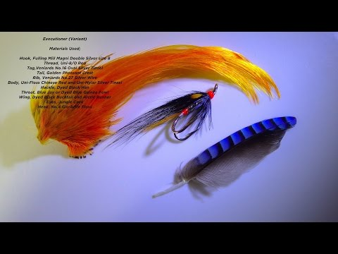 Tying an Executioner Spey Style Variant by Davie McPhail