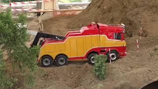 TOP SCENES! RC TRUCKS & CONSTRUCTION MACHINES! MASTER SERIES Part IV