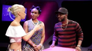 Falz Brings On Yemi Alade To Replace Samantha Walsh On The Bigger Friday Show