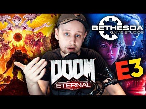 BETHESDA KONFERENCE: DOOM Eternal, Wolfenstein, Fallout 76 (Agraelus Reakce #6)