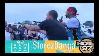 HOT97 SummerJam 2018 Performance - Julien Rose x StorezBanga x MartyMooliano