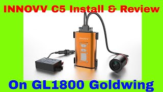 Innovv C5 installation on GL1800 Goldwing