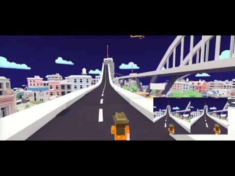 VR Runner game concept