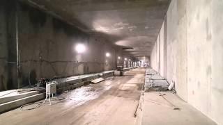 preview picture of video 'Dworzec Łódź-Fabryczna. Trwa budowa tunelu'