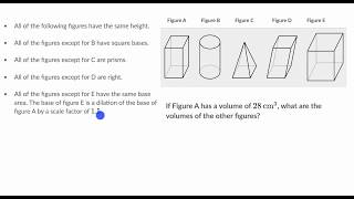 Using Related Volumes | Solid Geometry | High School Geometry | Khan Academy