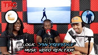 "Logic ""YSIV Freestyle"" Music Video Reaction"