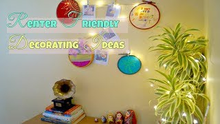 Renter Friendly Wall Decor Ideas