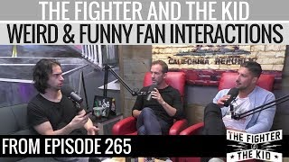 Gambar cover The Fighter and The Kid - Weird and Funny Fan Interactions with Chris D'Elia