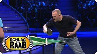 Mini-Tischtennis | Raab vs. Andreas | Spiel 12 | Schlag den Raab