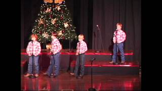 "Kincaid Gooch Wild Bunch ""Santa's Gonna Come In A Pickup Truck"" Christmas 2011"