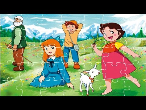 Heidi jigsaw Puzzle Games Play!