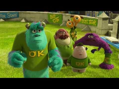 Animation Movies for Children - Monsters University : TOP Moments