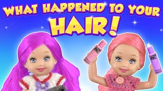 Barbie - What Happened To Your Hair! | Ep.293