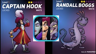 HALLOWEEN 2019 UPDATE   Disney Heroes: Battle Mode   Captain Hook And Randall Boggs! More Villains!